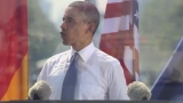 News video: Obama calls for nuclear arms cut