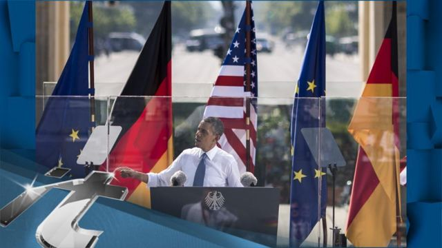 News video: Barack Obama Breaking News: Obama Talks Climate Change In Berlin Speech: 'We Will Do More'